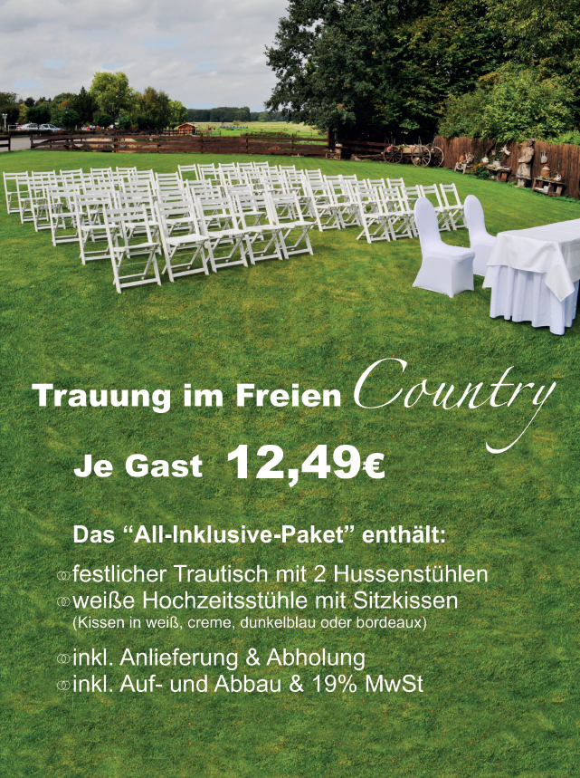 Freie Trauung Country